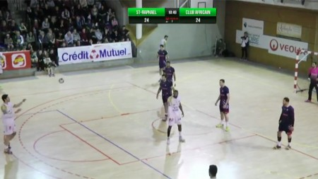 Captation live handball