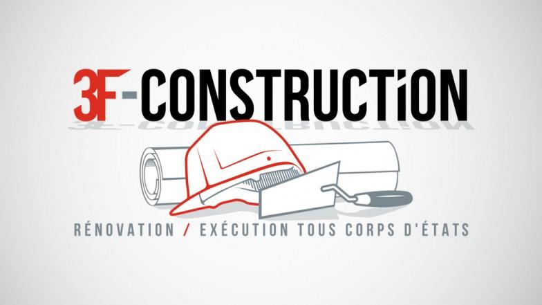 Création logo 3f constrution