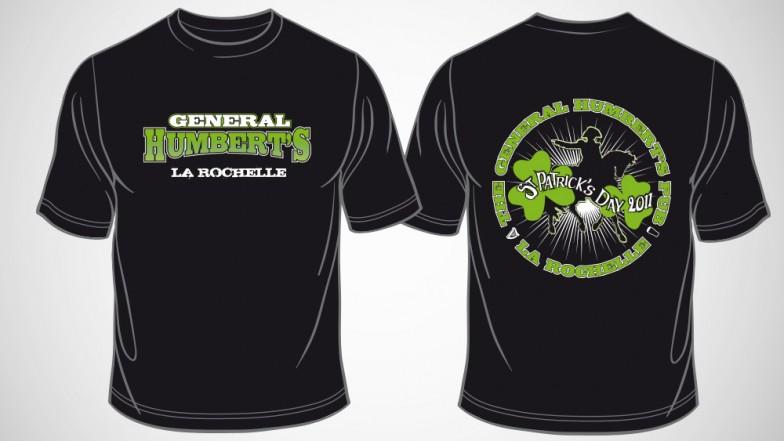 t-shirt generalhumberts 2011