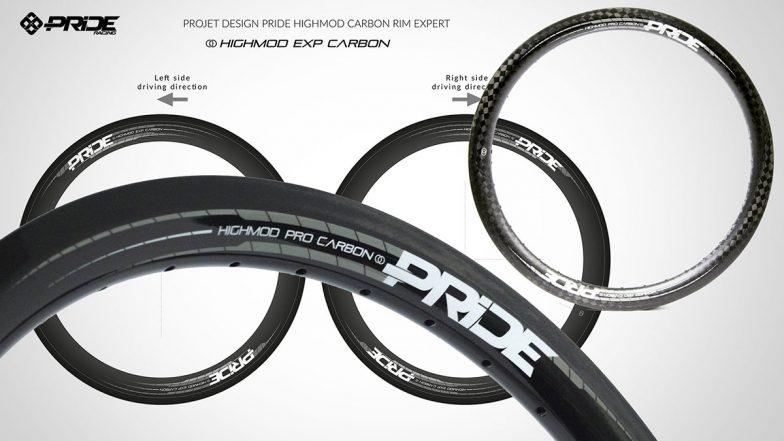 Design déco roues carbone pride highmod