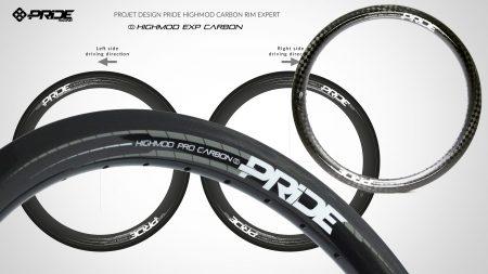 Design déco roue carbone Pride Highmod