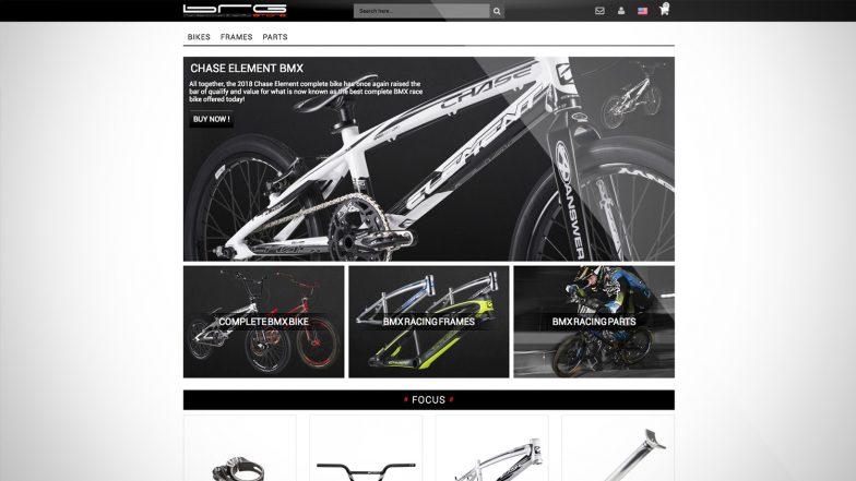 création site e-commerce brgstore