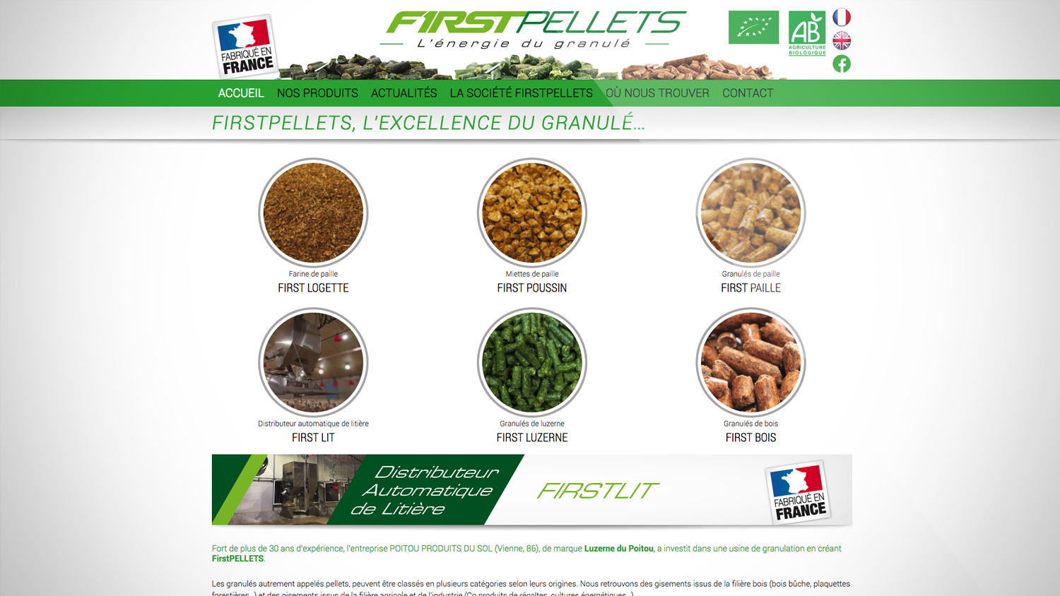Refonte design site firtspellets